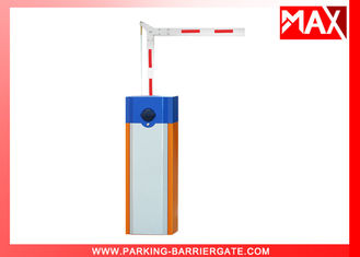 Waterproof Housing Security Car Park Barrier Gate With 2mm Steel Sheet Folding Arm