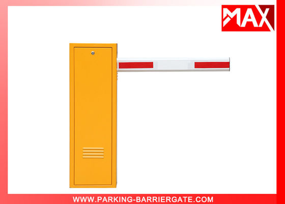 Spring Automatic Parking Barrier Gate 1.6 Second 80W Motor 3 Meters