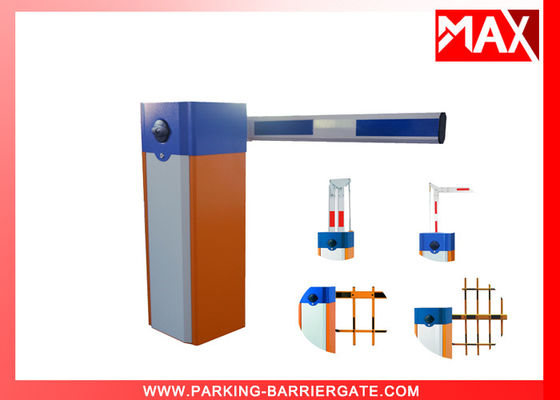 CE Approved Support OEM Smart Parking Barrier Gate , Electric Traffic Boom Barrier