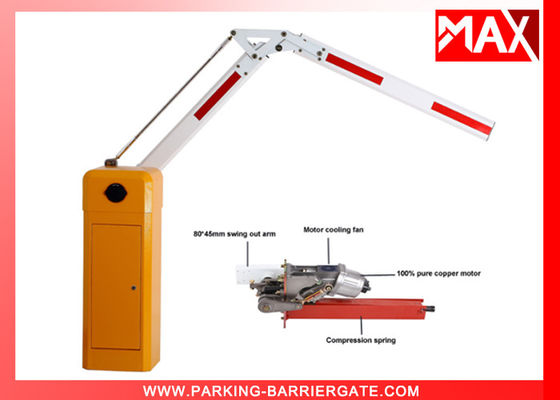 Automated Motorised Boom Vehicle Barrier Gate IP54 Protection Class