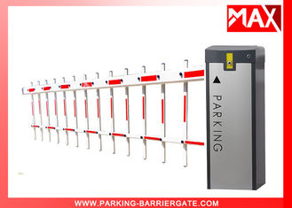 Swing Out Arm Toll Gate Barrier OEM 60HZ / 50HZ 120W Motor , Security Barriers And Gates