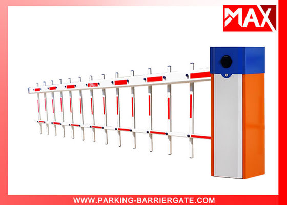 MX-60 Car Park Barriers , Vehicle Drop Arm Barrier With IC Card Interface