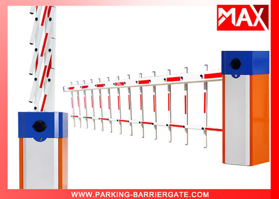 Intelligent Automatic Boom Barrier Gate Rustproof for Car Park , Automatic Barrier Gate