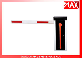 Orange Manual Release Automatic Vehicle Barrier , Parking Boom Gate