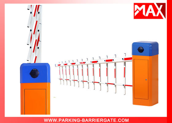 IP44 Grade Car Parking Barriers Boom , Automatic Driveway Barrier Gate