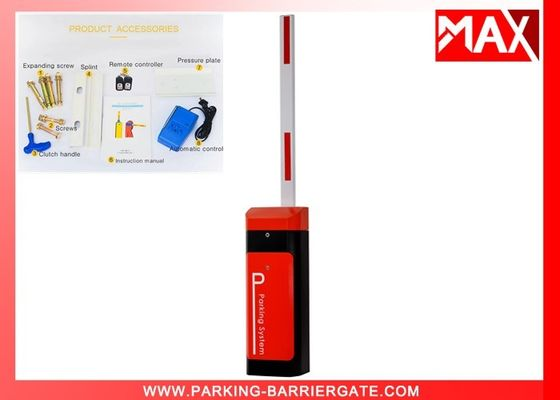 Orange Car Park Barriers , Ac220v Automatic Intelligent Vehicle Barrier Gate