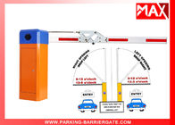 Vehicle Barrier Gate Arm , Security Boom Barriers For Parking Lot Management System