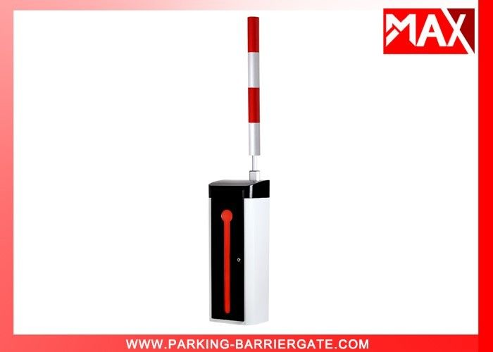 Car Park LED Boom Security Barrier Gate , Vehicle Access Control