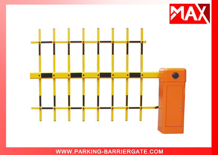 Automatic Car Parking Barriers With 6m Telescopic Arm Barrier Gate