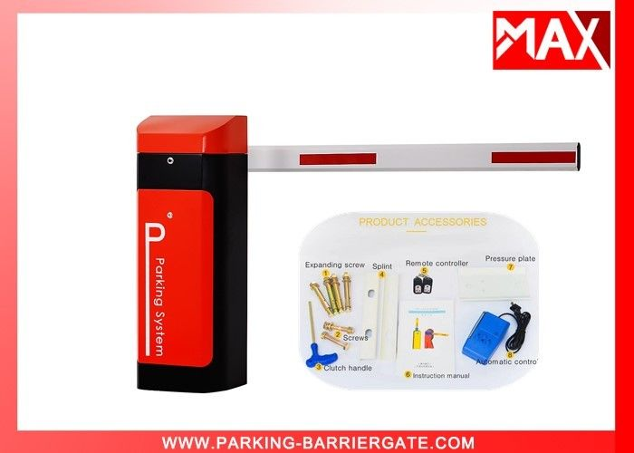 Photocell Sensors Automatic Parking Barrier Entrance Barriers With Aluminum Alloy Boom