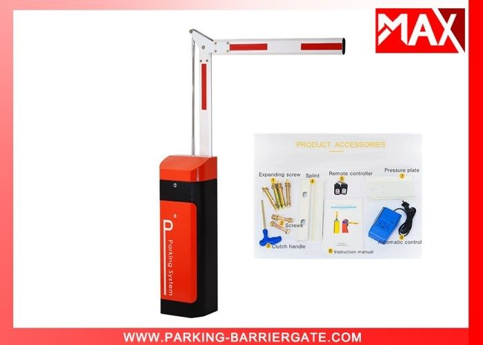 Thermal Protection Automatic Car Park Barriers 60HZ / 50HZ 120W Motor Barrier