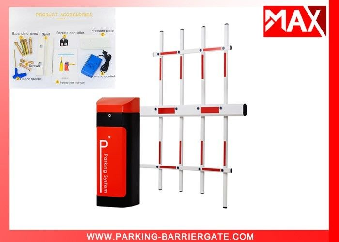 AC220V Motor Remote Control Car Park Barrier Gate For Toll System , Car Park Security Barriers