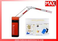 Operator Parking Traffic Barrier Boom Gate Customized Color 30r/min Motor Speed
